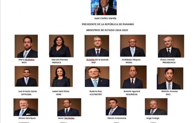 Conozca a los nuevos ministros de Estado de Panamá