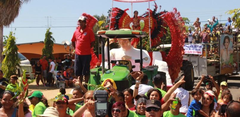 Carnaval en Veraguas se desarrolló con normalidad