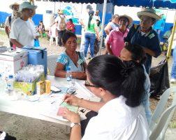 516 asisten a primer día del Censo Nacional de Salud Preventiva en Cañazas.